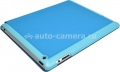 Чехол для iPad 3 и iPad 4 iCover Carbio, цвет Sky Blue (NIA-MGC-SB)