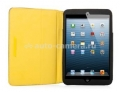 Чехол для iPad mini Capdase Folder Case Folio Canvas, цвет black / yellow (FCAPIPADM-131E)