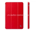 Чехол для iPad mini и iPad mini 2 (retina) Jison Executive Smart Cover, цвет Red