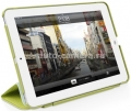 Чехол для iPad mini Macally protective hard-shell case with detachable cover, цвет green (CMATEGR-M1) (CMATEGR-M1)
