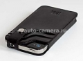 Чехол для iPhone 4 и iPhone 4S Sena Wallet Slim Case, цвет черный (159201)