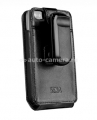 Чехол для iPhone 4/4S Sena Magnet Flipper Case, цвет Black Croco (163016)