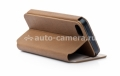 Чехол для iPhone 5 / 5S Capdase Folder Case Sider Tara, цвет brown/grey (FCIH5-ST8G)