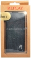 Чехол для iPhone 5 / 5S Replay Denim Flip, цвет Dark blue (134REF585.25)