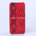 Чехол для iPhone 5 / 5S SAYOO Snake, цвет red