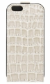 Чехол для iPhone 6 GUESS CROCO Flip, цвет Beige (GUFLP6CRB)