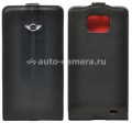 Чехол для Samsung Galaxy S2 Mini Flip Spleat Leather Stripes, цвет Black (MNFLGSSTBL)