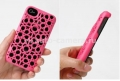 Чехол на заднюю крышку iPhone 4 и iPhone 4S FreshFiber Hidden Stars, цвет Pink (74261507)