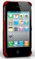 Чехол на заднюю крышку iPhone 4 и iPhone 4S FreshFiber Moscow City, цвет Red (74401506)