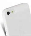Чехол на заднюю крышку iPhone 5 и 5S Melkco Ultra thin Air PP case 0.4mm, цвет White