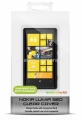 Чехол на заднюю крышку Nokia Lumia 920 PURO Clear Cover, цвет black (NK920CLEARBLK)