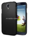 Чехол на заднюю крышку Samsung Galaxy S4 (i9500) SGP Ultra Fit Series, цвет smooth black (SGP10195)