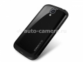Чехол на заднюю крышку Samsung Galaxy S4 SGP Case Slim Armor Metal Series, цвет black (SGP10203)