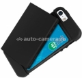 Чехол-накладка для iPhone 5 / 5S Uniq Protege Traveller, цвет Black (IP5SHYB-PROTRLBLK)