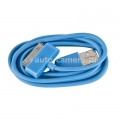 Кабель для iPod, iPhone и iPad USB Cable to 30 pin, цвет синий