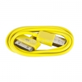 Кабель для iPod, iPhone и iPad USB Cable to 30 pin, цвет желтый