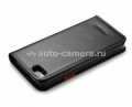 Комплект чехлов для iPhone 5 / 5S SGP Leather Wallet Case Snap, цвет black (SGP10134)