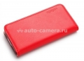 Комплект чехлов для iPhone 5 / 5S SGP Leather Wallet Case Snap, цвет scarlet red (SGP10133)