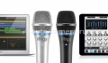 Конденсаторный микрофон для iPhone, iPad, iPod touch и Samsung IK Multimedia iRig Mic HD, цвет Silver