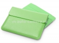 Кожаный чехол для iPad 3 и iPad 4 SGP Leather Case illuzion Sleeve Series, цвет Lime (SGP07630)
