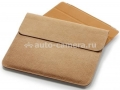 Кожаный чехол для iPad 3 и iPad 4 SGP Leather Case illuzion Sleeve Series Vintage Brown (SGP07636)