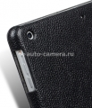 Кожаный чехол для iPad Air Melkco Leather Case Slimme Cover Ver.1, цвет black (APIPDALCSC1BKLC)