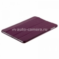 Кожаный чехол для iPad Air Melkco Leather Case Slimme Cover Ver.1, цвет Purple LC