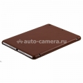 Кожаный чехол для iPad Air Melkco Leather Case Slimme Cover Ver.1, цвет Vintage Brown