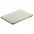 Кожаный чехол для iPad Air Melkco Leather Case Slimme Cover Ver.1, цвет White LC