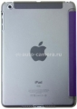 Кожаный чехол для iPad Mini / iPad mini 2 (retina) Uniq Trinite Pansy Magic, цвет purple (PDMLBD-ETRIPUR)