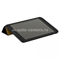 Кожаный чехол для iPad mini и iPad mini 2 (retina) Jison Vintage Leather Smart Case, цвет Black (JS-IM-001AB)