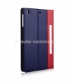 Кожаный чехол для iPad Mini и iPad Mini Retina Aston Martin Racing Folio case, цвет blue/red (TDBKIPADMB063)