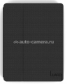 Кожаный чехол для iPad mini Luardi SmartCover Portfolio Saffiano Leather, цвет черный (liPadmScBLK)