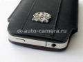Кожаный чехол для iPhone 4 и 4S FCBarcelona Pocket Slim (BRFM037)