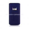Кожаный чехол для iPhone 5 / 5S Beyzacases Retro Strap Plus, цвет blue (BZ23301)