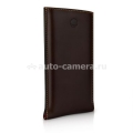 Кожаный чехол для iPhone 5 / 5S Beyzacases Strap SP New, цвет brown (BZ23844)