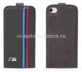 Кожаный чехол для iPhone 5 / 5S BMW M-Collection Flip, Perforated (BMFLP5MP)