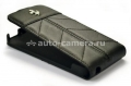 Кожаный чехол для iPhone 5 / 5S Ferrari Flip California, цвет full black (FECFFL5FB)