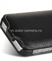Кожаный чехол для iPhone 5 / 5S Melkco Premium Leather Case - Jacka Type, цвет Black LC
