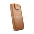 Кожаный чехол для iPhone 5 / 5S SGP Crumena pouch, цвет vegetable brown (SGP09514)