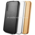Кожаный чехол для iPhone 5 / 5S SGP Leather Case Argos, цвет black (SGP09598)