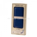 Кожаный чехол для iPhone 5 / 5S Vetti Craft Slimflip Normal Series, цвет dark blue lychee (IPO5SFNS110104)