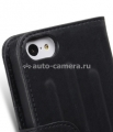 Кожаный чехол для iPhone 5C Melkco Leather Case Craft Limited Edition Prime Verti, цвет Black Wax