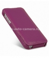 Кожаный чехол для iPhone 5C Melkco Leather Case Jacka Type, цвет Purple LC