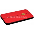 Кожаный чехол для iPhone 6 Ferrari Formula One Booktype, цвет Red (FEFOCFLBKP6RE)