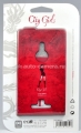 Кожаный чехол для Nokia Lumia 925 Fonexion City Girls Flip Leather Red (CACILUM925FLI01)