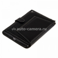 Кожаный чехол для Pad mini / iPad mini 2 (retina) Melkco Premium Leather Case Kios Type with 3 - Angle Stand Ver.2, цвет Black LC