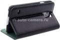 Кожаный чехол для Samsung Galaxy S5 (G900F) Aston Martin Racing Folio Case, цвет Black (FCSAMI96001A)