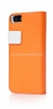 Набор чехлов для iPhone 5 / 5S Capdase Smart Folder Sider Belt, цвет orange / white (SFIH5-SB72)