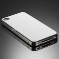 Наклейка на iPhone 4 и 4S SGP Skin Guard Leather Set Package, цвет white (SGP06770)
